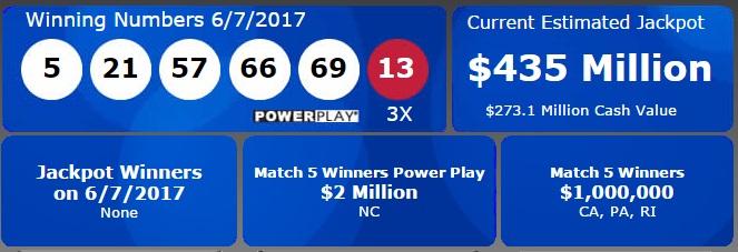 435-million-powerball-10-june-2017