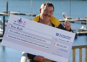 Pete Kyle blew his £5.1million fortune and ended up on dole (Image: Plymouth Herald)